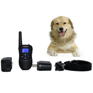 Waterproof Dog Training Collar with The Remote Transmitter & Collar Receiver (ZSTC0001)
