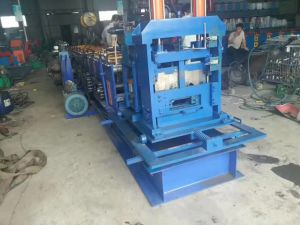 Hydraulic Motor C Purlin Cold Roll Forming Machine pictures & photos
