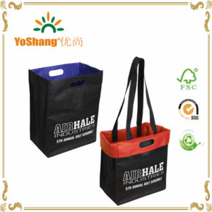 Custom Printed Stronghold Reversible Non Woven Tote Bags pictures & photos