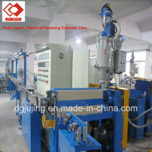 Coaxial Cable Chemical Foaming Production Line Extrusion Machine pictures & photos