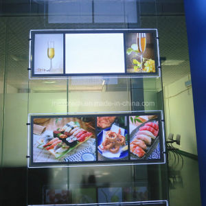 LED Slim Acrylic Menu Board Light Box pictures & photos