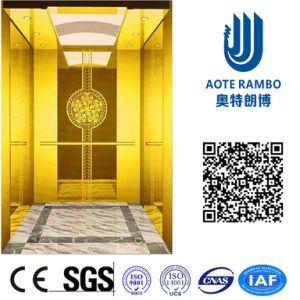 AC Vvvf Gearless Drive Passenger Elevator Without Machine Room (RLS-234) pictures & photos