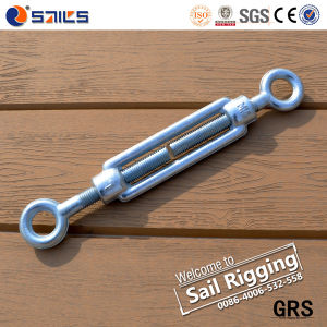 Galvanized Steel Eye and Eye DIN1480 Rope Turnbuckle pictures & photos