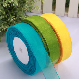 OEM New Eco-Friendly Gift Organza Ribbon pictures & photos