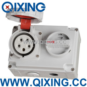 Qixing Cee/IEC International Standard Socket with Switches and Mechanical pictures & photos