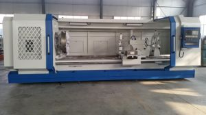 Qk1327 Flat Bed Horizontal CNC Lathe for Steel Pipe