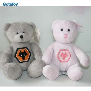 High Quality Custom Plush Pink Bear Stuffed Soft Toy pictures & photos