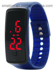 Smart Silicone Kids Boys Girls Women′s Ladies LED Bracelet Watch pictures & photos