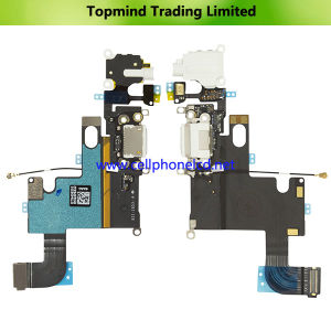 Spare Parts for iPhone 6 Dock Charging Port Flex Cable pictures & photos