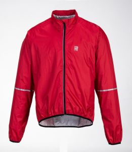Red Men′s Polyester Waterproof Jacket pictures & photos