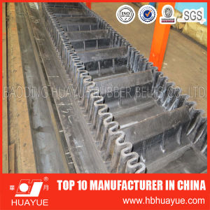 Corrugated Skirt Sidewall Rubber Conveyor Belt pictures & photos