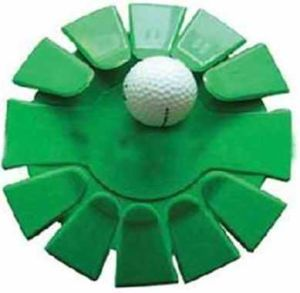Green Plastic Golf Putting Cup pictures & photos