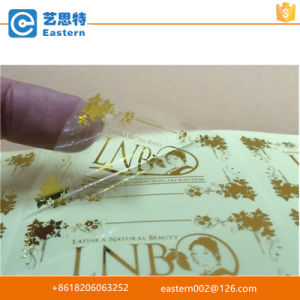 China Supplier Custom Design Printed Paper Gold Foil Stickers pictures & photos