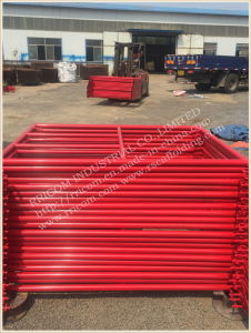 Powder Coated Mason Scaffolding Frame for Construction Tools pictures & photos