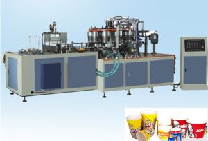 Disposable Popcorn Cup Forming Machine