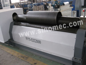 Mechanical Symmetrical 3 Roller Plate Bending Machine/Rolling Machine (W11-16X2500) pictures & photos