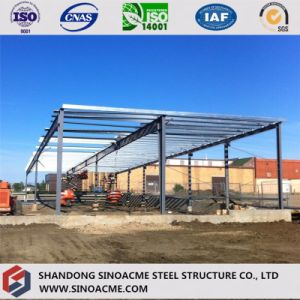 Sinoacme Prefabricated Metal Frame Shopping Center Building pictures & photos