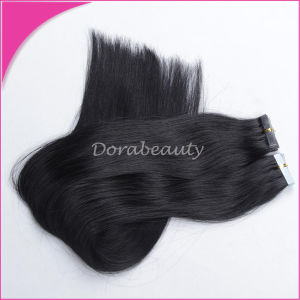Remy Hair Seamless PU Skin Weft Tape Hair Extension pictures & photos