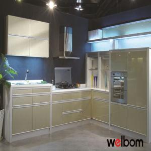 2016 Welbom High Gloss or Matt Baked Paint Kitchen Cabinet pictures & photos