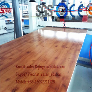 WPC Formwork Machine /Wood Polymer Board Machine Wood Plastic Composite Machine Plastic Machine pictures & photos