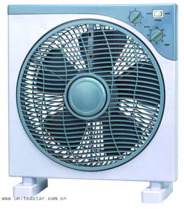 12′′ 3 Speed Electric Box Fan with Timer pictures & photos