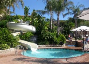 Family Swimming Pool Fiberglass Water Slide pictures & photos