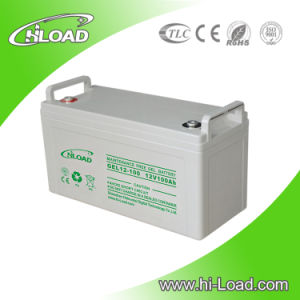 12V Dry Charged Rechargeable Deep Cycle Gel Battery pictures & photos