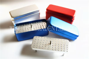 Dental Equipment Disfect Box for Endo Files Sterilization 72 Holes 3 Usages Solid Layer pictures & photos