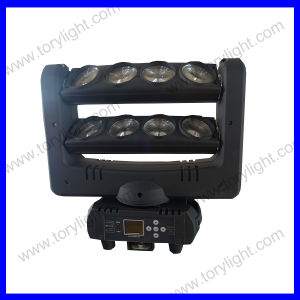 8*12W LED RGBW Spider Light with Base pictures & photos
