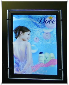 A3 Hanging Ultra Slim Crystal LED Light Box (CSH01-A2P) pictures & photos