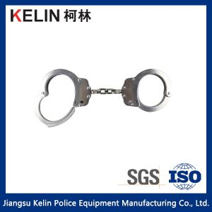 Hc-01rnij Stainless  Steel+ Nickell Handcuff for Police pictures & photos