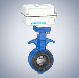 Wafer Electric Butterfly Valve (HL-ZX) pictures & photos