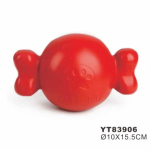 Wholesale Bone Shape Soft Rubber Dog Toy (YT83897) pictures & photos