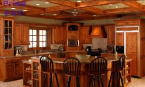 American Style Laminate Sheet Kitchen Cabinets From China Pr-K4022 pictures & photos