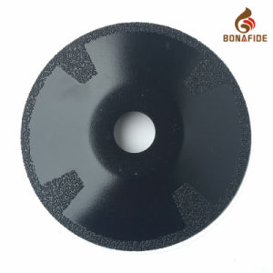 Vacuum Brazed Diamond Concave Cutting Blade pictures & photos
