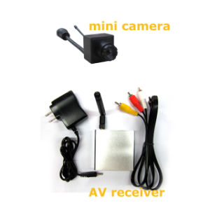 5.8GHz Mini 16chs Wireless AV Receiver with 0.008lux 520tvl Wireless Camera pictures & photos