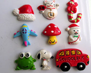OEM/ODM 3D Tourist Souvenirs Resin Fridge Magnet for Promotion Gifts pictures & photos
