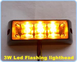 LED Grill Flashing Warning Lighthead