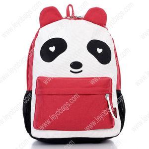 Fashion Cute Girls Canvas Animal Panda Backpack Bag Rucksack (BP121011)