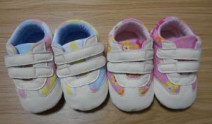 Cute Comfortable Soft Cotton Infant Shoes Baby Shoes (BH-3) pictures & photos