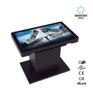 1080P Videos OEM Touch Screen Advertising LCD Display pictures & photos