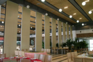 Acoustic Operable Partition Walls for Hotel Space Division pictures & photos