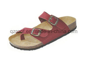 High Quanlity Beach Sandal Cork Slipper (10006)