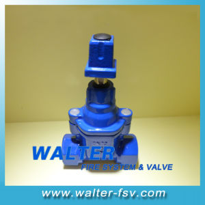 Bsp Threaded Resilient Seat Gate Valve pictures & photos