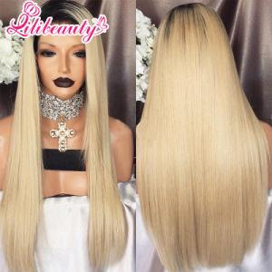 Full Lace Wig Brazilian Human Hair Women Long Black Wigs pictures & photos
