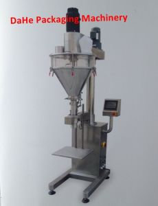Semi Automatic Powder Weighing and Filling Machine for Bags and Bottles 10-5000g pictures & photos