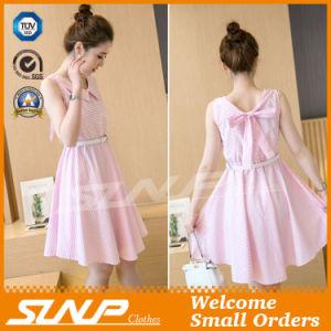 OEM High Quality Stripe Women Clothes Fashion Dress/Skirt