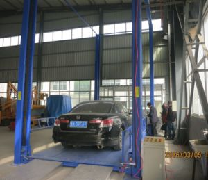 Portable 4 Post Car Lift pictures & photos