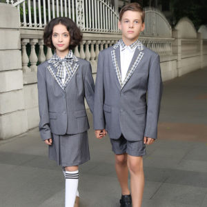 High Quality Custom High School Student Formal Uniform Blazers pictures & photos