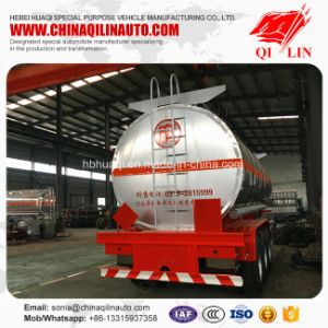 30000 Liters Thermal Insulation Liquid Chemical Tanker Semi Trailer pictures & photos